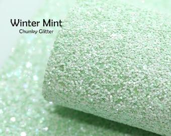 Winter Mint Chunky Glitter