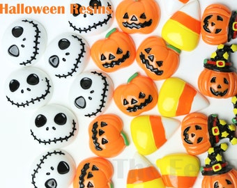 5102050pc halloween spooky cabochons