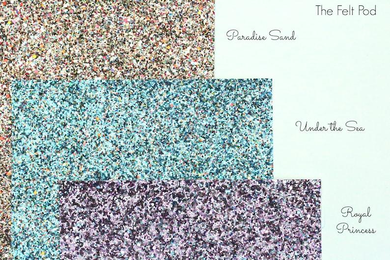 Chunky Glitter Fabric Sheet  Blue Glitter  DIY Glitter Bows Blue Chunky Glitter Fabric Under The Sea
