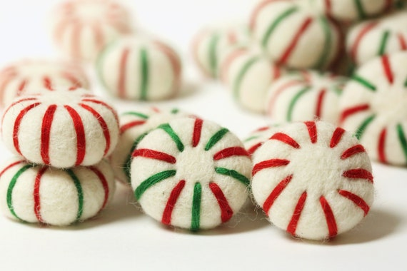 image 0 - Peppermint Candy Christmas Ornaments