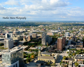Overview 8x10 or 11x14 photo of Milwaukee, WI