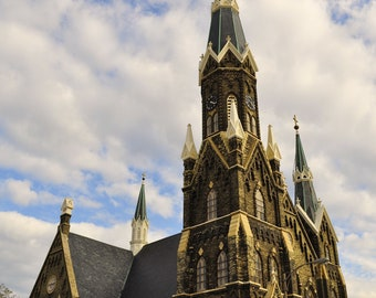 Trinity Lutheran Church Milwaukee, WI Fine Art Photography Color Photo