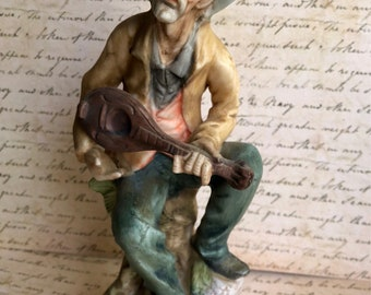 Vintage Figurines, Vintage Knick Knacks, ETSY Vintage Hobo , Antiques, Vagabond Statue Timeless Curiosities On Etsy , Antique Statues Hummel
