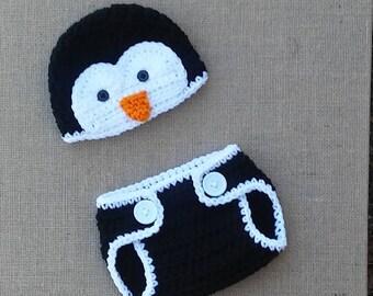 dec37563ce4 Baby Penguin hat