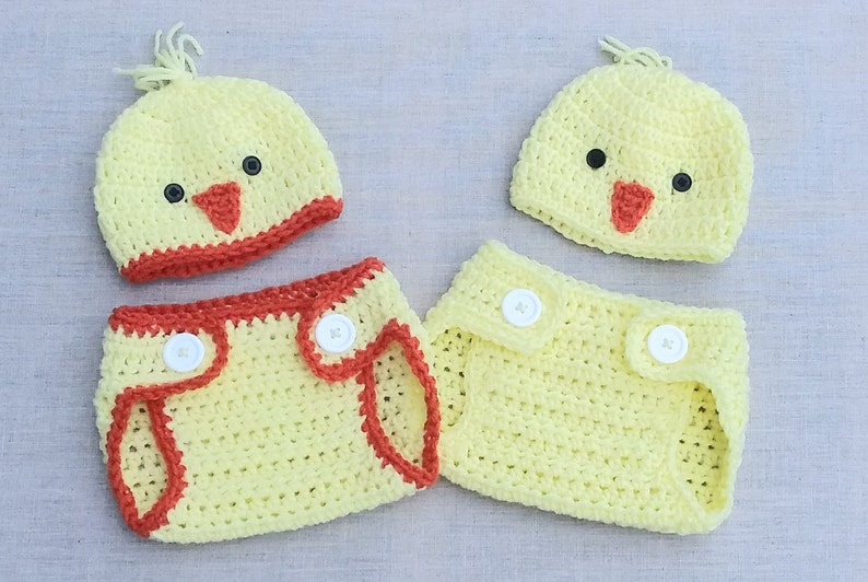 chick hat baby chick photo prop Baby easter outfit newborn chick outfit,crochet chick hat,baby shower gift spring chick hat easter gift