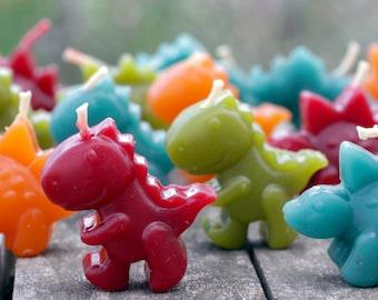 Dinosaur Beeswax Birthday Candles, 4-Pack Gift Boxed - The Good Dinosaur