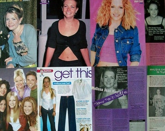 MELISSA JOAN HART ~ Clarissa Explains It All, Sabrina The Teenage Witch, Melissa and Joey ~ Clippings, Articles, Pin-Ups for Scrapbooking