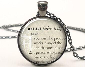 dictionary necklace faith jewelry Faith art pendant faith necklace Pendant #PA115P inspirational pendant dictionary