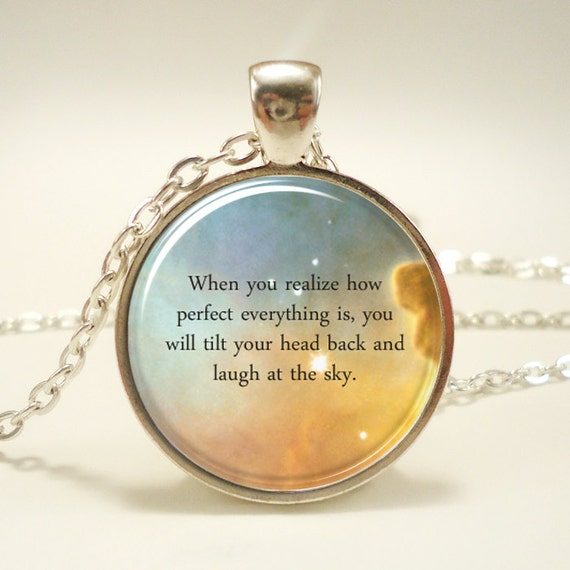 dde6cc2db5386 Custom Quote Necklace, Personalized Jewelry For Poem Or Text, Song Lyric  Necklace, Personalized Memorial Jewelry (1730S1IN)