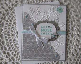 Handmade Greeting Card: Christmas Noel