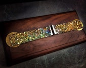 """Gravity Defying Bismuth Sculpture """"Emergence at Equilibrium"""" with Floating Magnet"""