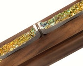 """Emergence - Gravity Defying Bismuth Sculpture """"Emergence at Equilibrium"""" with Floating Magnet"""