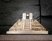 Piety - Bismuth Levitating Maglev, Pyramid Sculpture