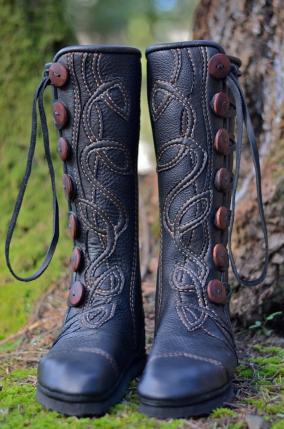 Moccasin Boots Knee High Boots Celtic