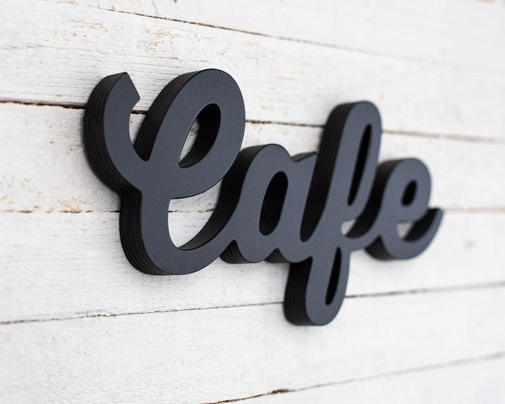 Cafe Zeichen Café Zeichen Küche Zeichen Küche Wand Kunst