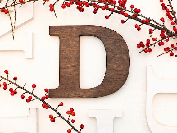Rustic Letters Wall Letters Wooden Letters Vintage Etsy