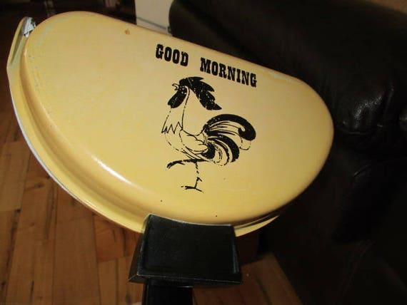 Nordic Ware Aluminum Omelet Pan Good Morning Rooster Yellow Etsy