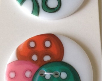 Novelty Buttons Sewing Themed Wuttons New