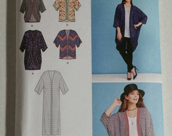 Simplicity Sewing Pattern 1108A Easy To Sew Kimonos