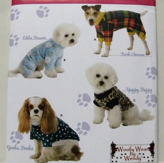 Einfachheit 3939 Nähen Muster Hund Woofy Kleidung zu tragen | Etsy