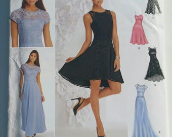 Simplicity Sewing Pattern 1195 Misses Dress Sizes 12-20