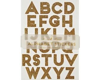 gold glitter alphabet stickers meri meri gold alphabet stickers gold letter stickers glitter stickers glitter letter stickers