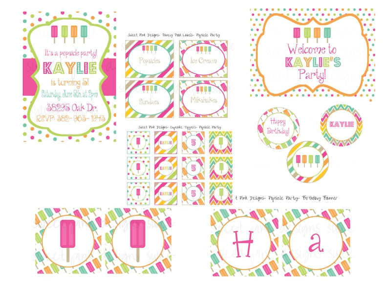 image relating to Popsicle Printable identified as Popsicle Get together, Popsicle Printable, Popsicle, Popsicle Invitation, Finish Celebration Choice, Do it yourself