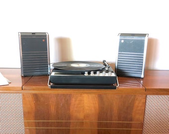 Vintage Panosonic Portable Turntable, Record Player SG 453