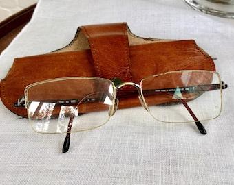 0ac96603b74 Vintage Silhouette Eyeglasses-Mens Eyeglasses-Fashion Eyewear-Silhouette  Eyegbrillen-Silver Frame with Burgundy Arms-