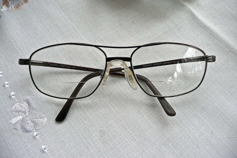 Lentes gafas Retro estructuras metálicas Metal resorte | Etsy