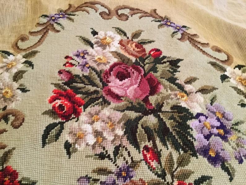 Nice France Printed Fabric Panel Make A Cushion Upholstery Craft