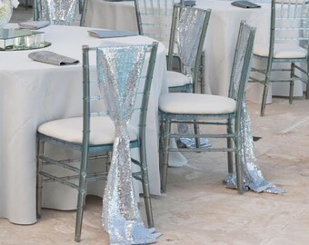 GLITZ Sequin Chair Sash