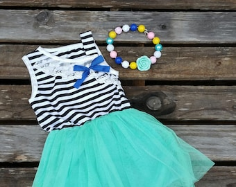40% off Easter Sale - Mint to Be Tutu Dress