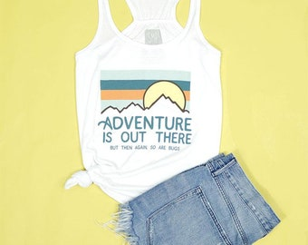 Adventure Is Out There Women's Racerback Tank