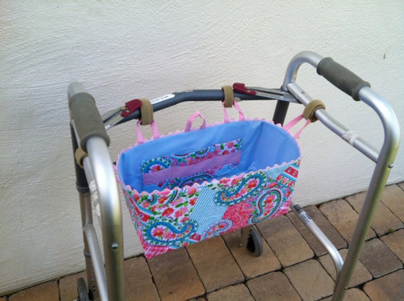 Custom Handmade Walker Basket