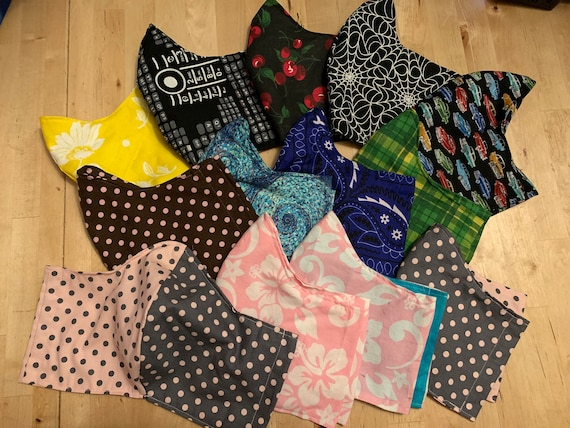 Handmade face masks - Custom Order - Fun Fabrics!