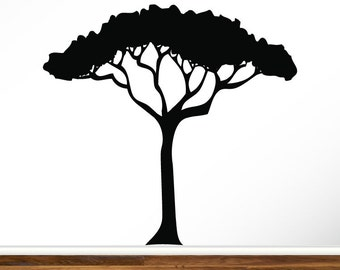 African Tree Decal Etsy