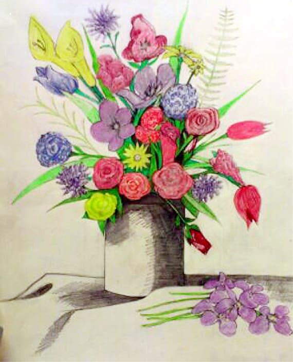 Imagenesparacolorearwebsite Dibujos De Ramos De Flores A Color