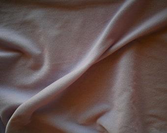 """Light Gray Velvet Fabric 45"""" Wide  Per Yard"""