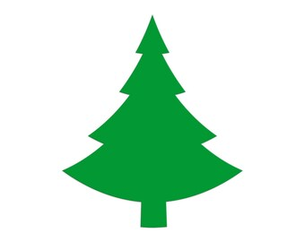 christmas tree die cut pine tree paper cut out shapes christmas gift tags party favors place cards scrapbooking decorations
