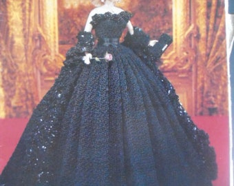 400308c4bf4 Princess Diana Crochet Collector Costume Pattern Vol 48 Engagement Dress