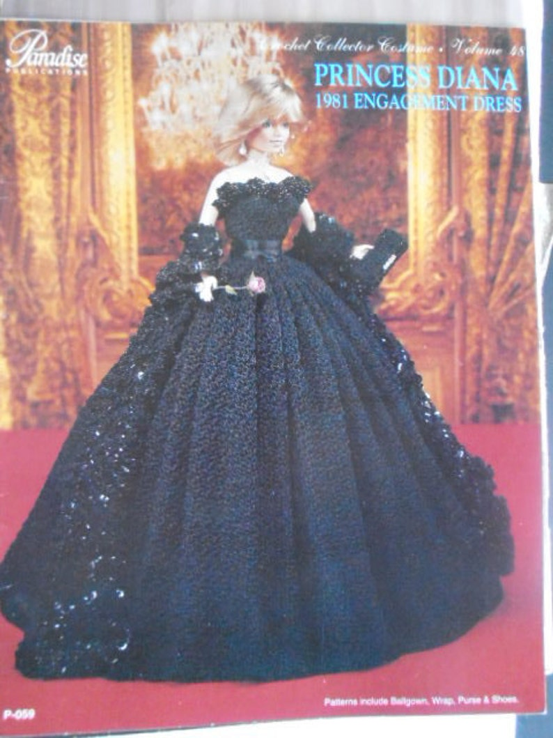 94d3a854c59 Princess Diana Crochet Collector Costume Pattern Vol 48