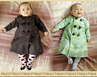 KOTTIE Baby Coat PDF Pattern & Tutorial