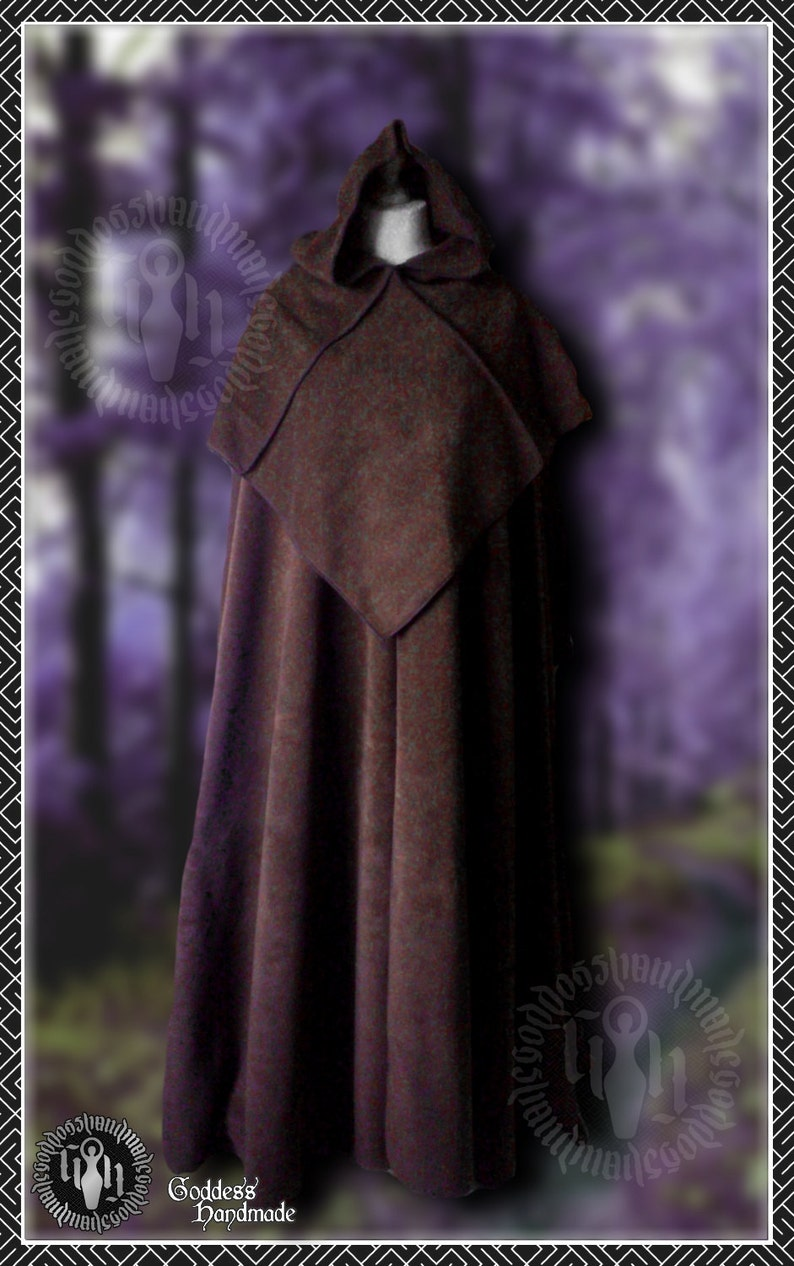 18265cc491 Monk cloak with separate hood ready made medieval monk etsy jpg 794x1266  Medieval monk hood