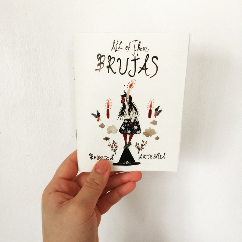 All of them BRUJAS Full Color Mini Comic Zine Witch image 0