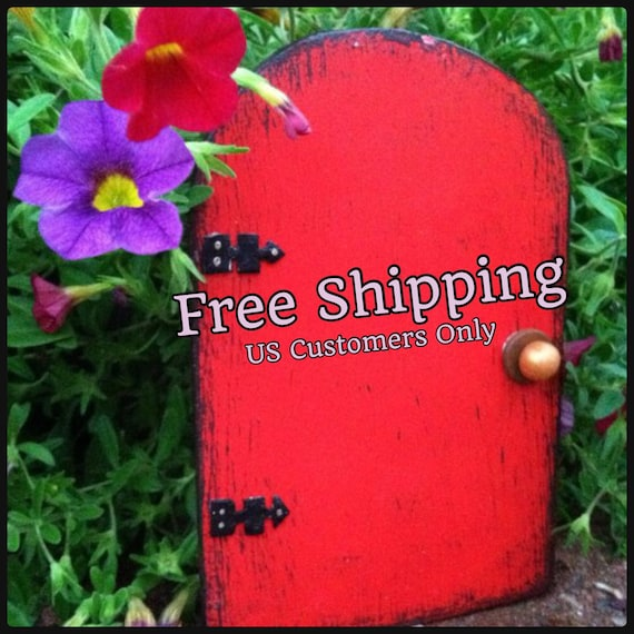 Fairy Door Garden Stocking Stuffer Free Shipping