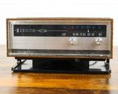 1970s Zenith Circle Of Sound Table Radio Model C415W