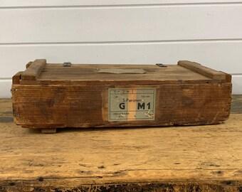 Vintage Ammo Box Etsy