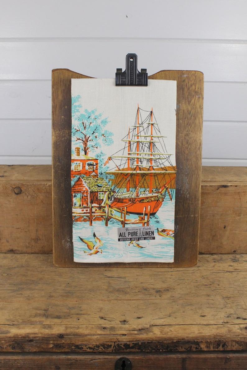 Wind Jammer Tea Sailing Ship Rustic//Vintage Metal Sign