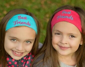 Best Friends Gift, Best Friend Birthday Gift, Best Friends Keepsake, Best Friends Headbands, Best Friend Gift Idea